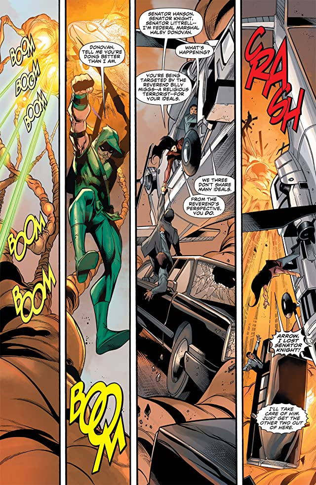 click for super-sized previews of Green Arrow (2010-2011) #15