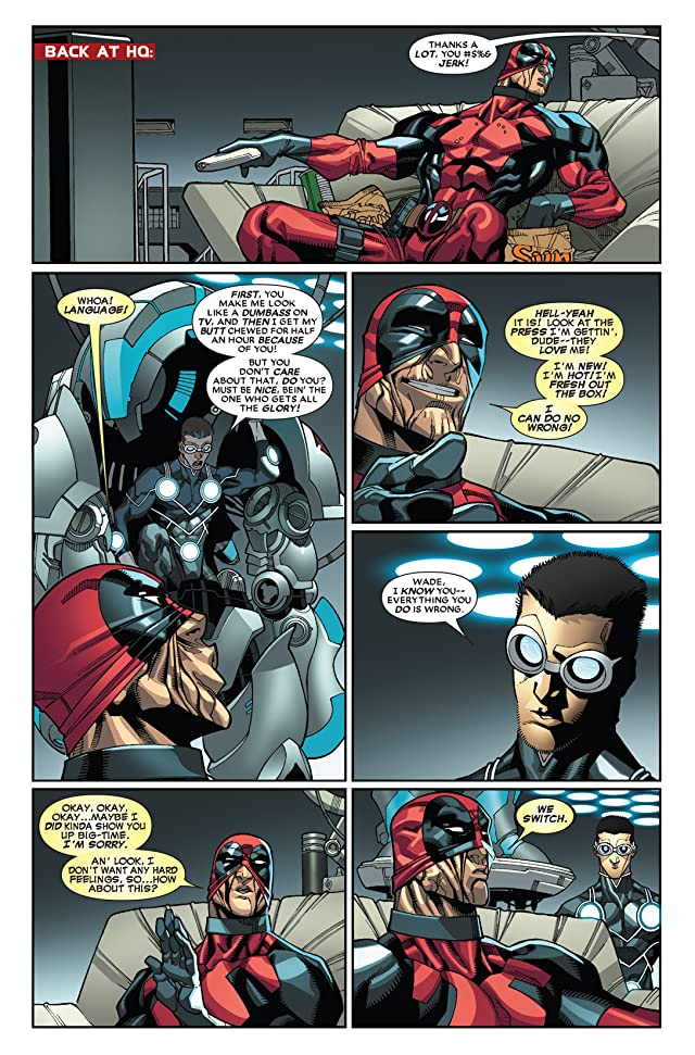 click for super-sized previews of Deadpool (2008-2012) #24