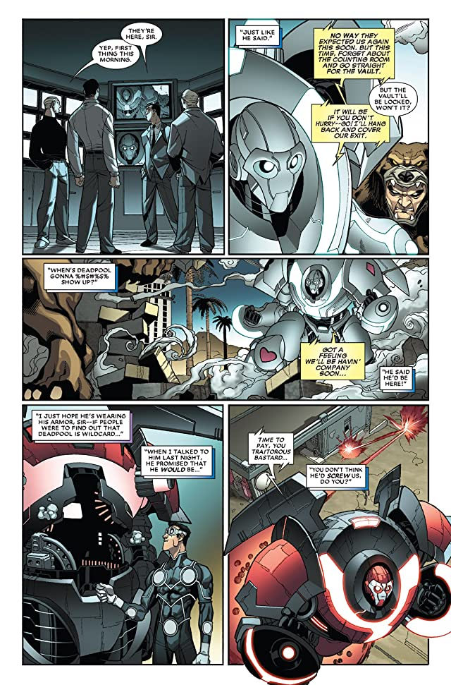 click for super-sized previews of Deadpool (2008-2012) #25