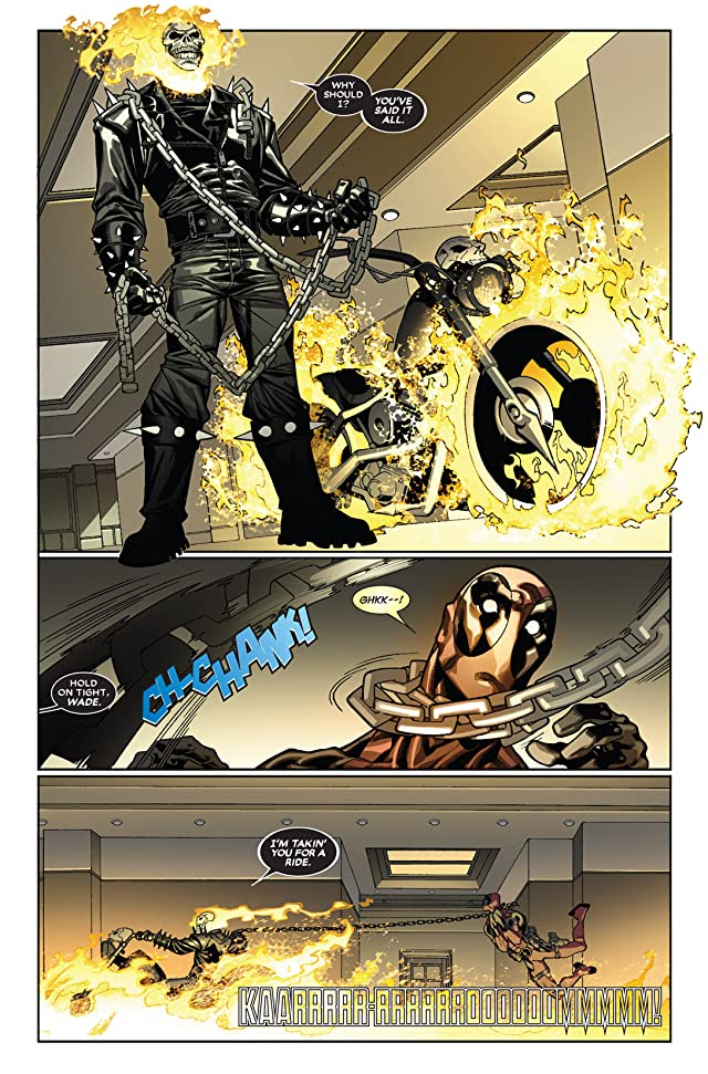click for super-sized previews of Deadpool (2008-2012) #26