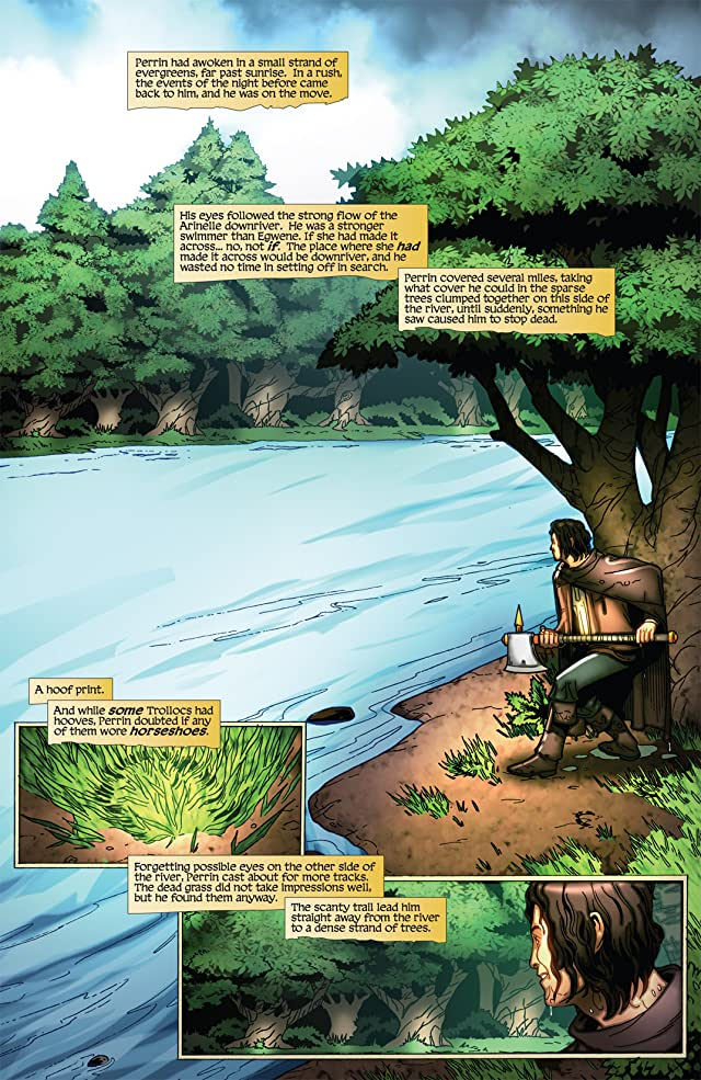click for super-sized previews of Robert Jordan's Wheel of Time: Eye of the World #16