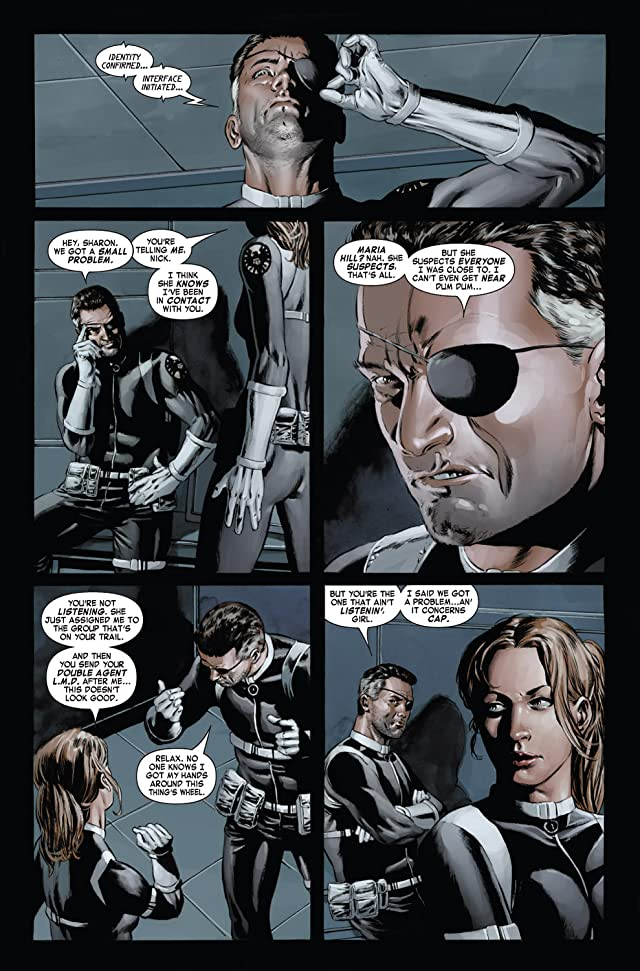 click for super-sized previews of Captain America (2004-2011) #24