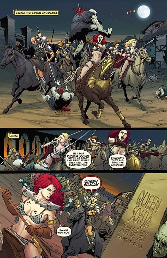 click for super-sized previews of Queen Sonja #20
