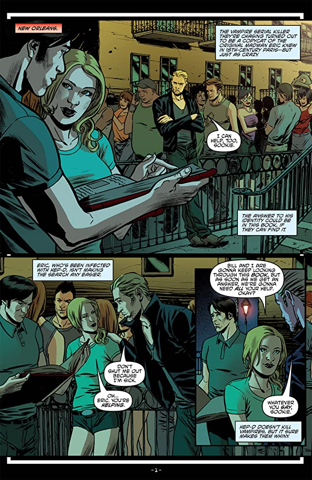 click for super-sized previews of True Blood: French Quarter #5