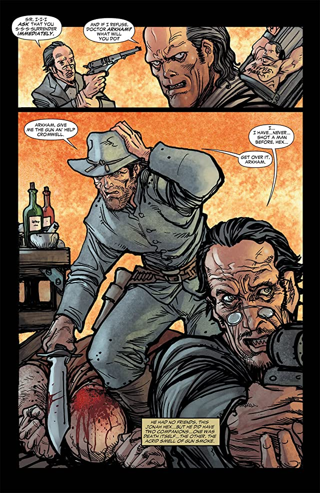 click for super-sized previews of All Star Western (2011-2014) #3