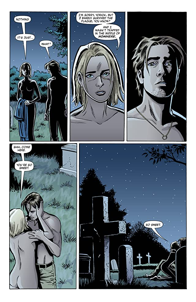 click for super-sized previews of Y: The Last Man #25