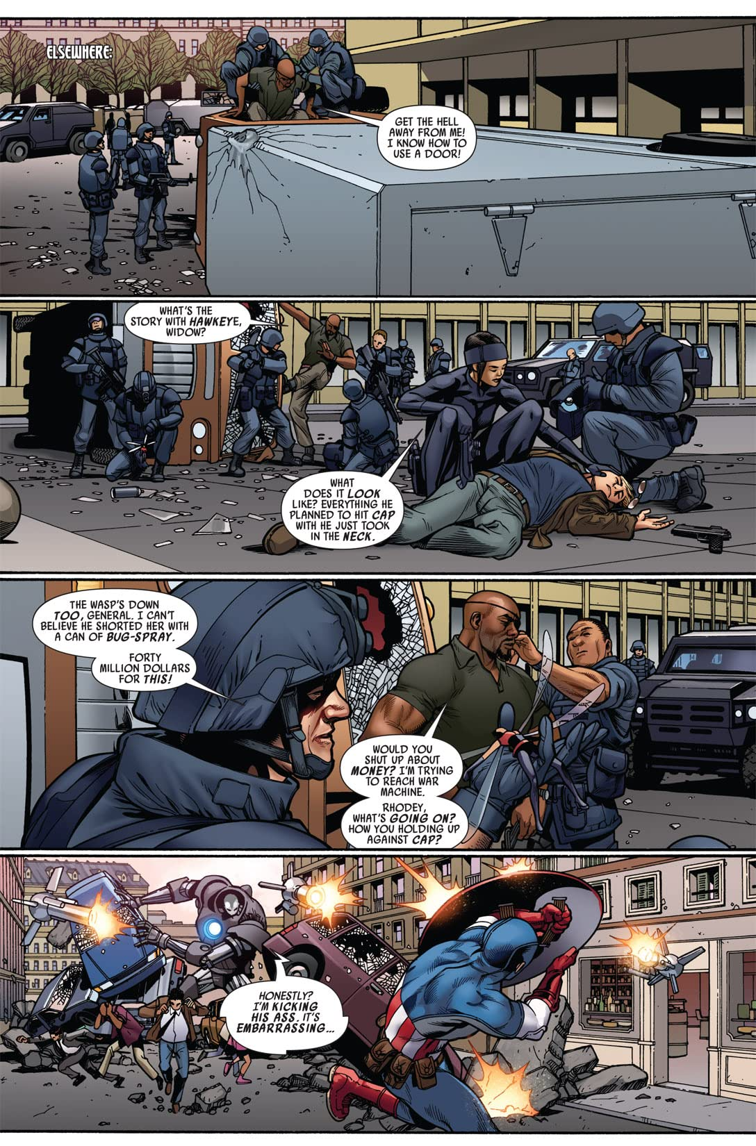 Ultimate Comics Avengers #4