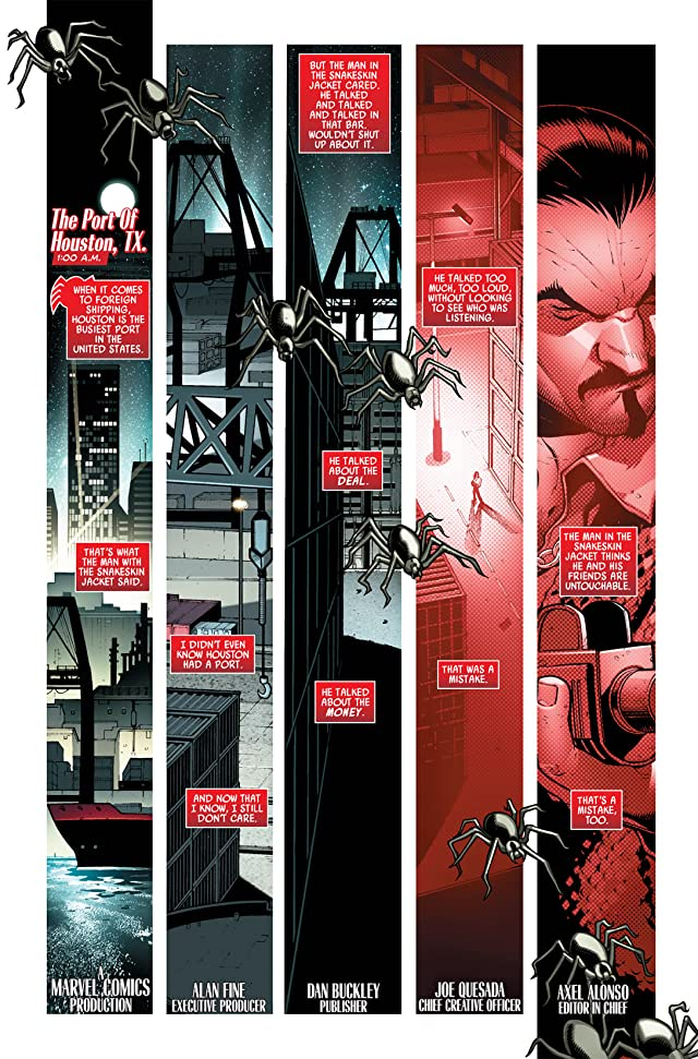 click for super-sized previews of Scarlet Spider #1