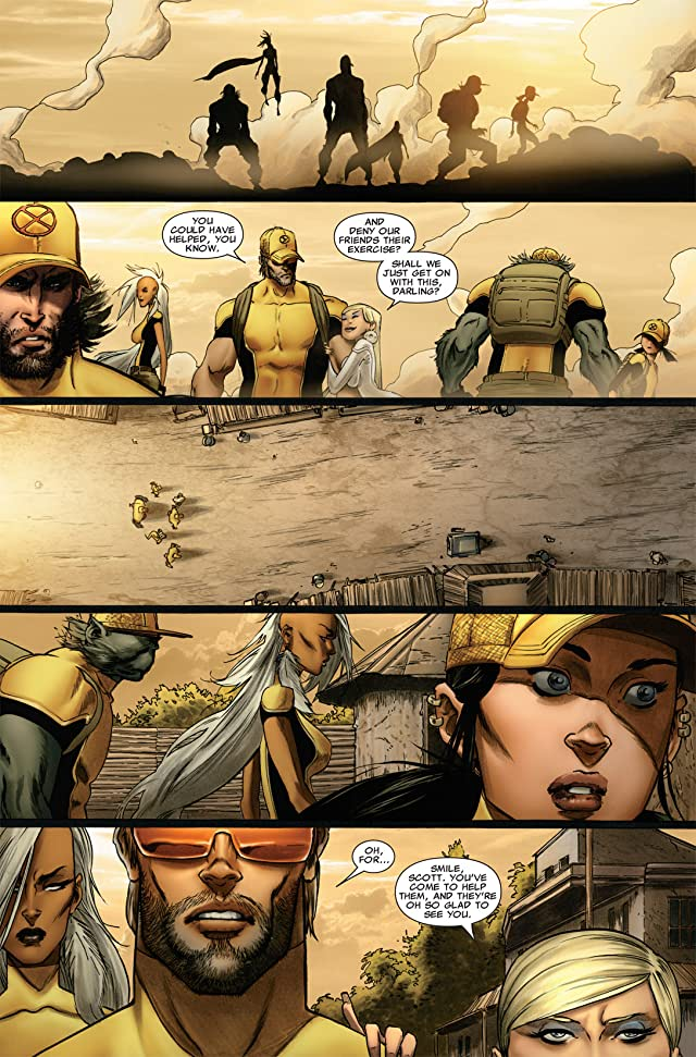 click for super-sized previews of Astonishing X-Men: Xenogenesis #2
