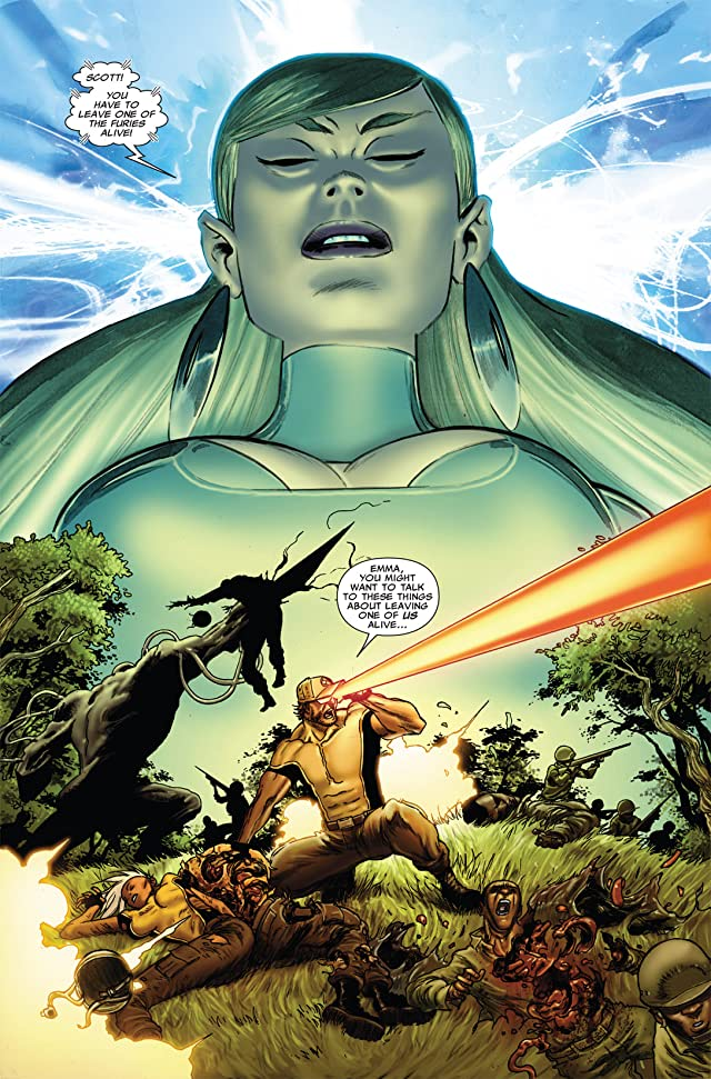 click for super-sized previews of Astonishing X-Men: Xenogenesis #5