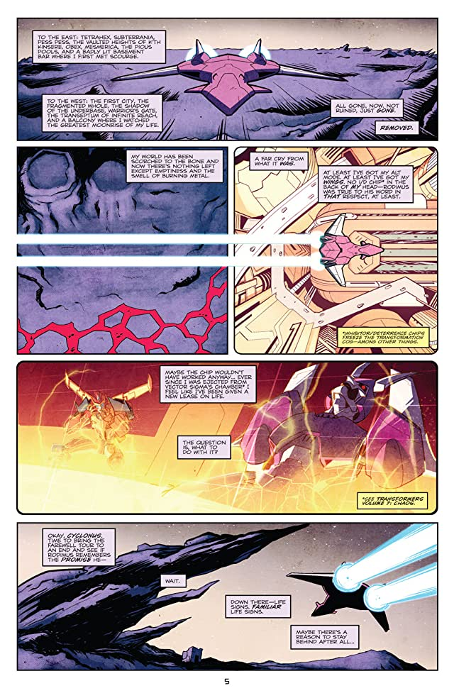 click for super-sized previews of Transformers: More Than Meets the Eye (2011-) #1