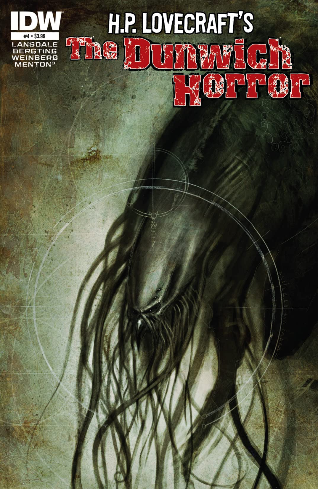 HP Lovecraft: The Dunwich Horror #4 (of 4)