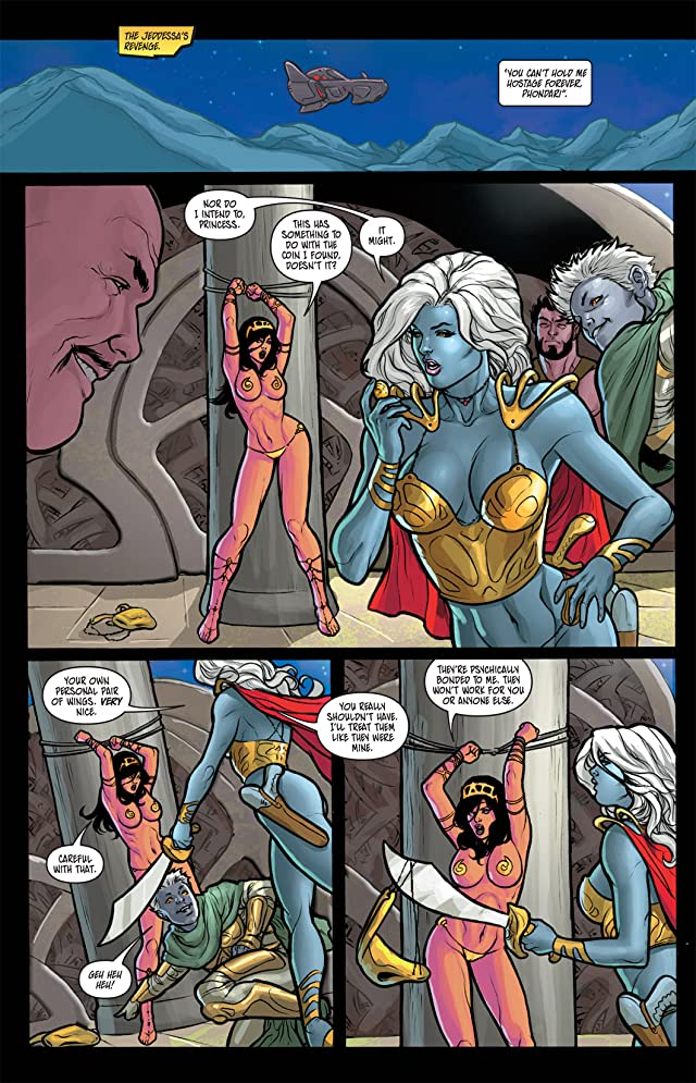click for super-sized previews of Warlord of Mars: Dejah Thoris #7