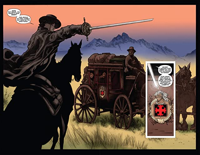 click for super-sized previews of Zorro Rides Again #7 (of 12)