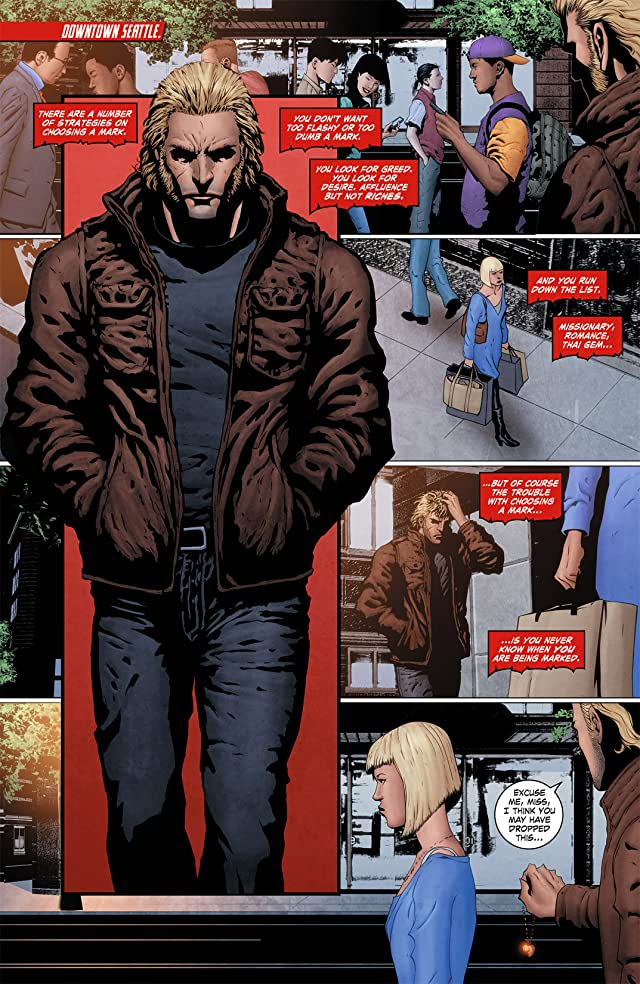 click for super-sized previews of Grifter (2011-2013) #5