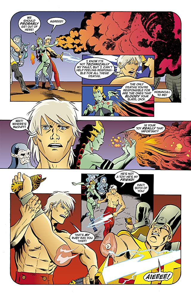 click for super-sized previews of Jack of Fables #43