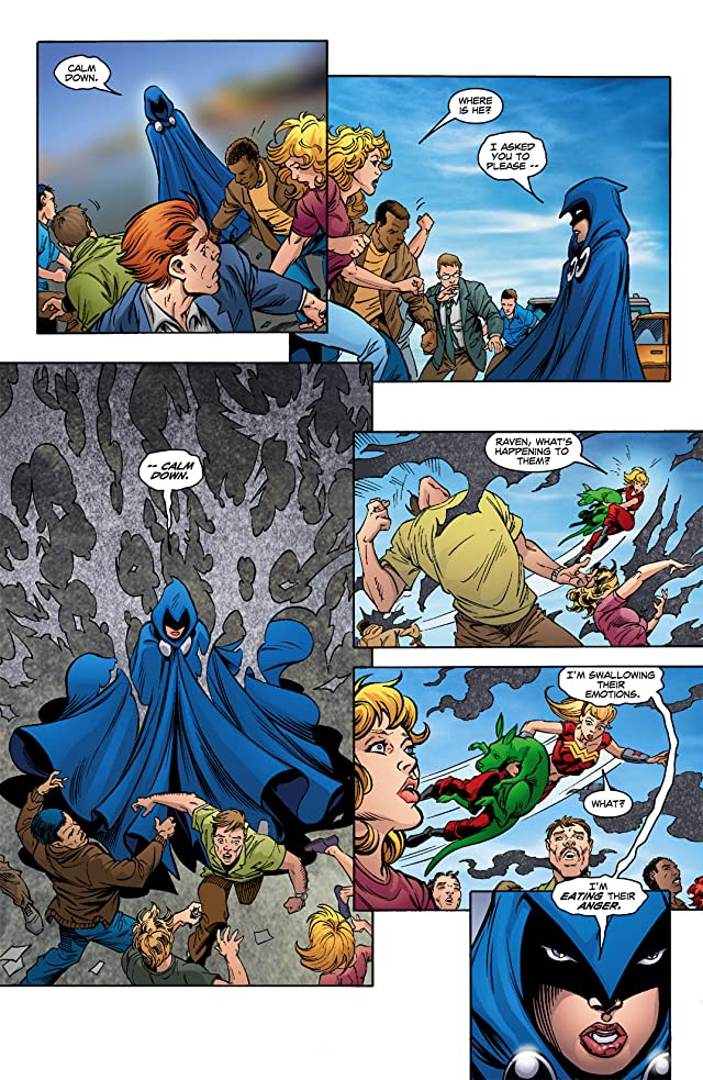 click for super-sized previews of Teen Titans (2003-2011) #14