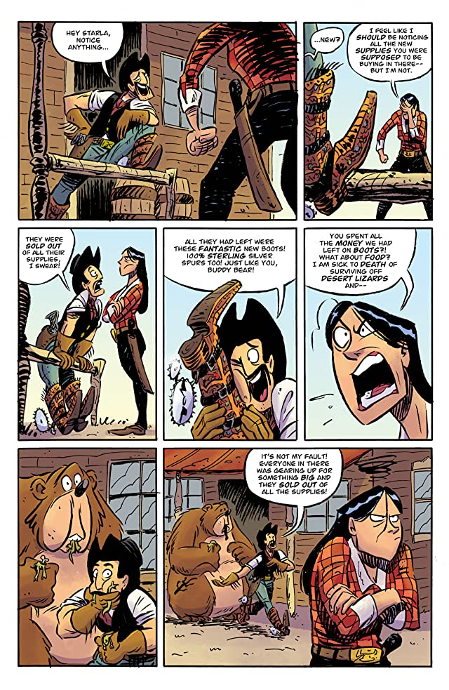 click for super-sized previews of Reed Gunther #7