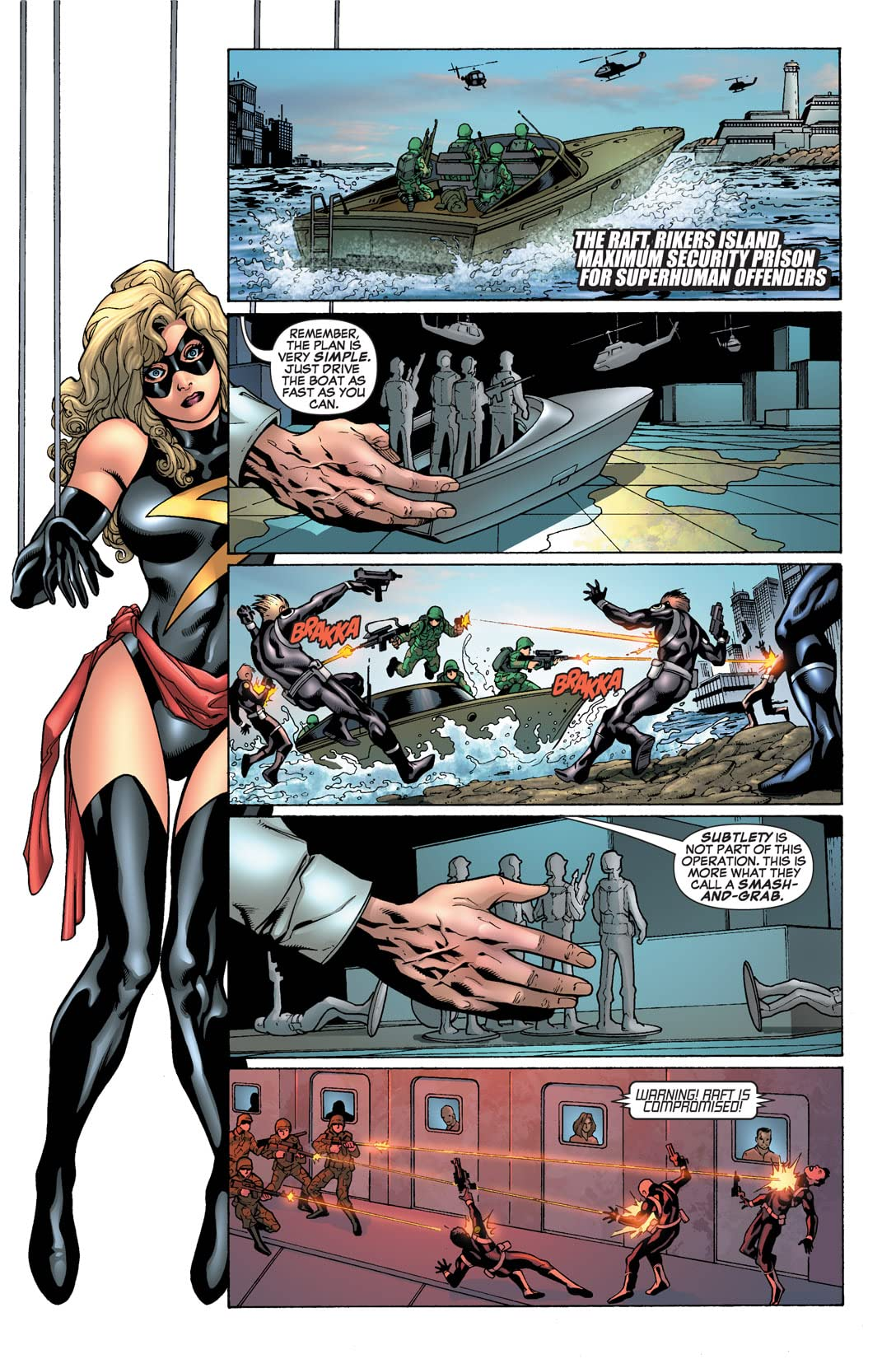 Ms. Marvel (2006-2010) #18