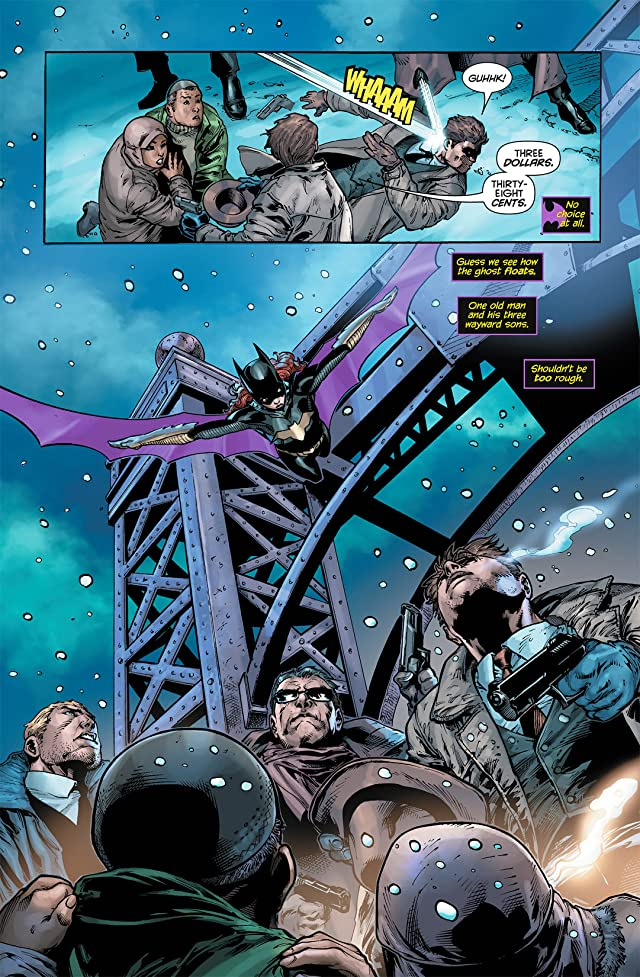 click for super-sized previews of Batgirl (2011-) #5