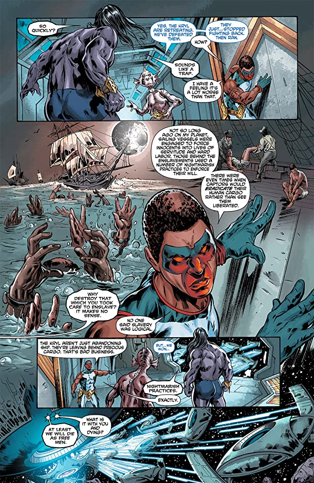 click for super-sized previews of Mister Terrific (2011-2012) #5