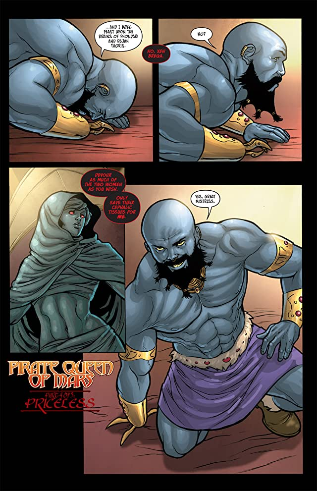 click for super-sized previews of Warlord of Mars: Dejah Thoris #9