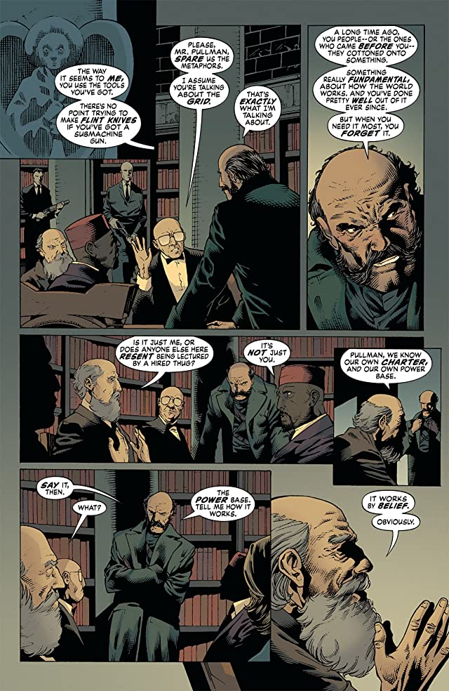 click for super-sized previews of The Unwritten #33