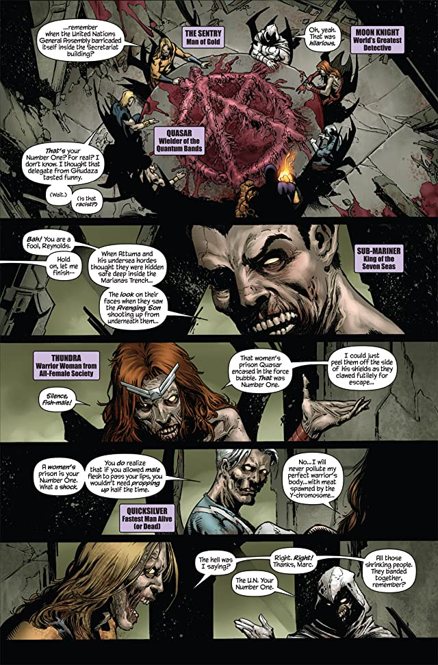 click for super-sized previews of Marvel Zombies Return #5