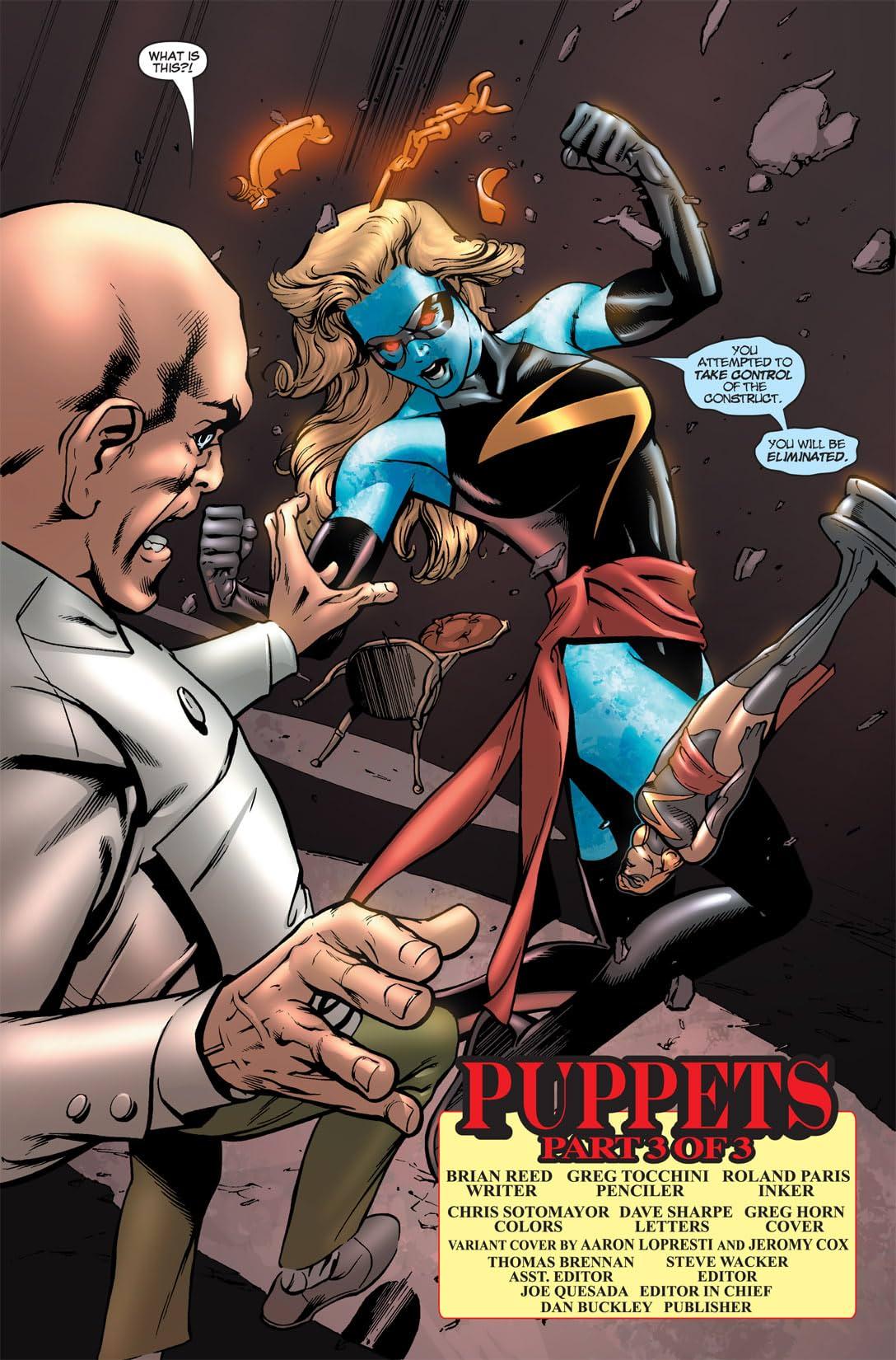 Ms. Marvel (2006-2010) #20