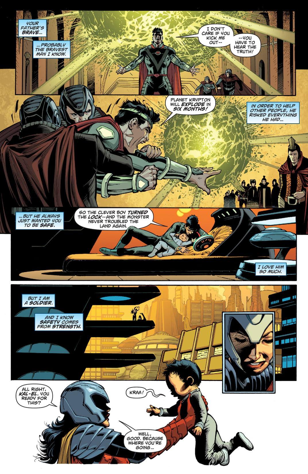 Superman - Action Comics (2011-2016) Vol. 5: What Lies Beneath