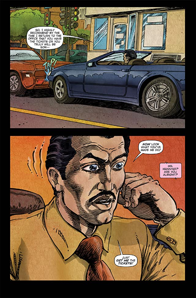 click for super-sized previews of Vincent Price Presents #10
