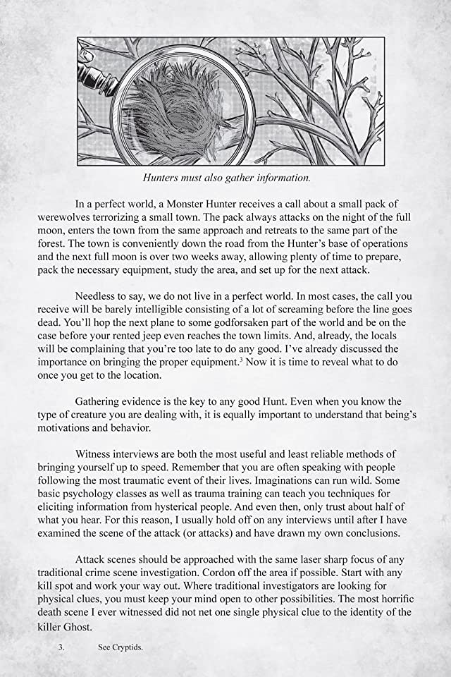 click for super-sized previews of Monster Hunter's Survival Guide #3 (of 5)