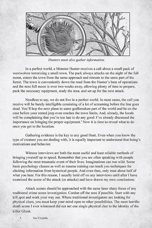 Monster Hunter's Survival Guide #3 (of 5)