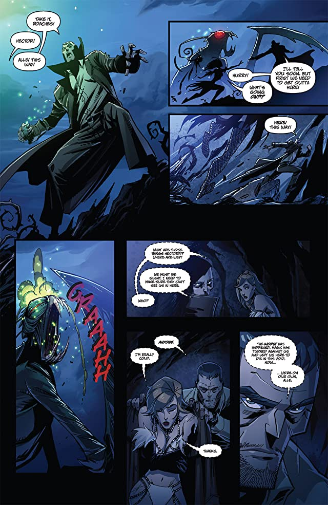 click for super-sized previews of Charismagic #2