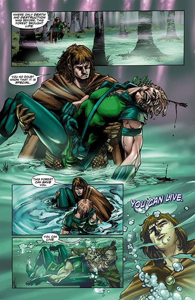 click for super-sized previews of Green Arrow (2010-2011) #3