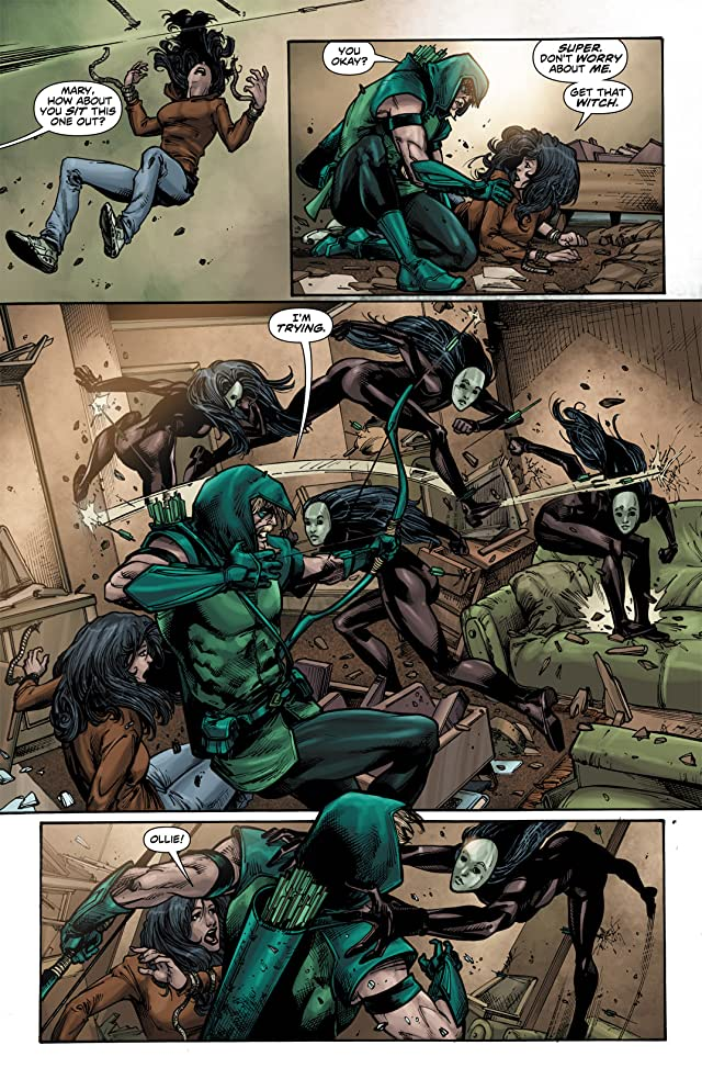 click for super-sized previews of Green Arrow (2010-2011) #5
