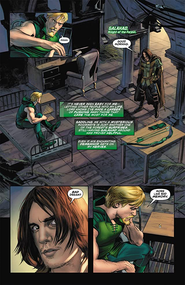 click for super-sized previews of Green Arrow (2010-2011) #7