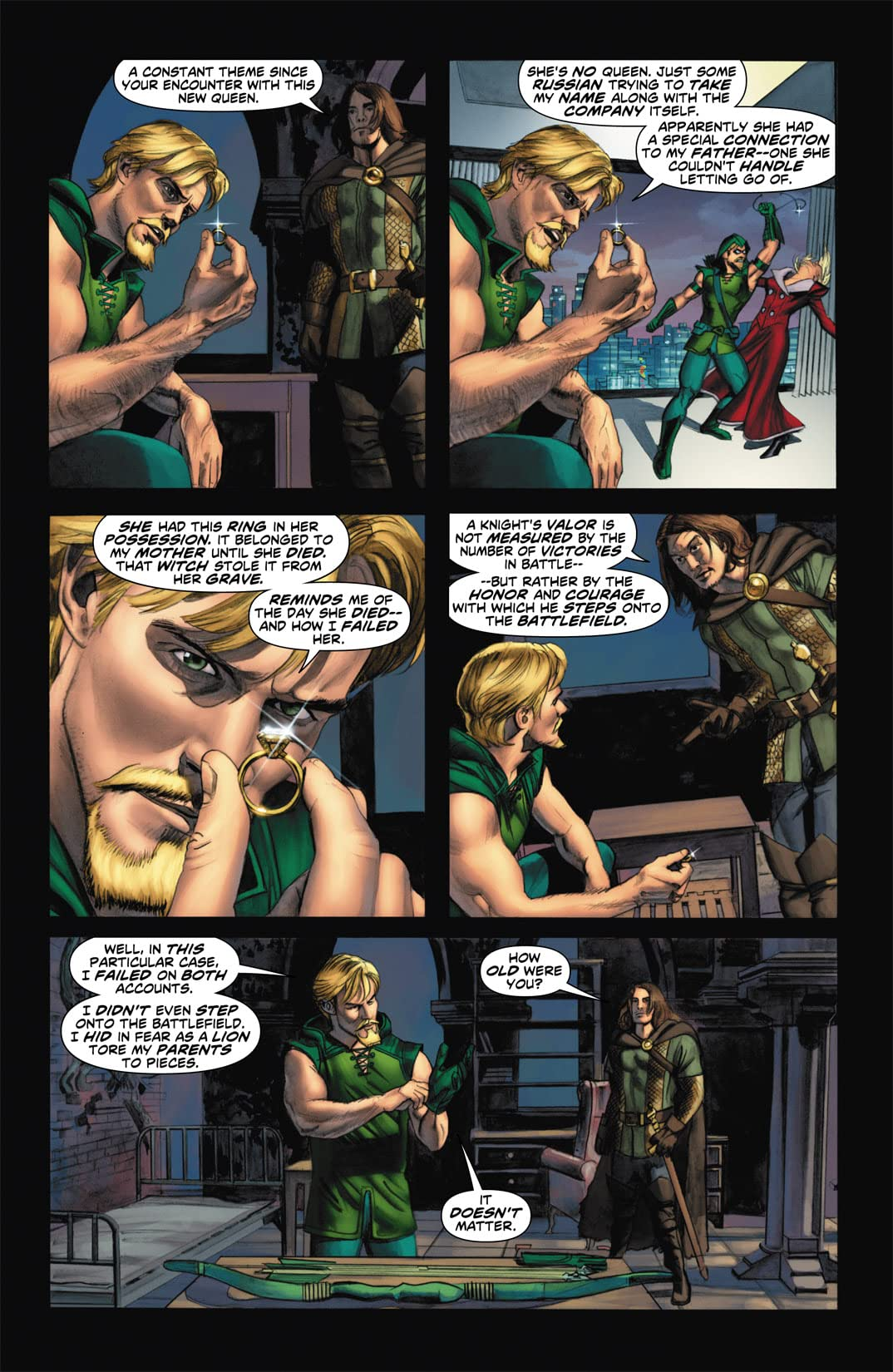 Green Arrow (2010-2011) #7