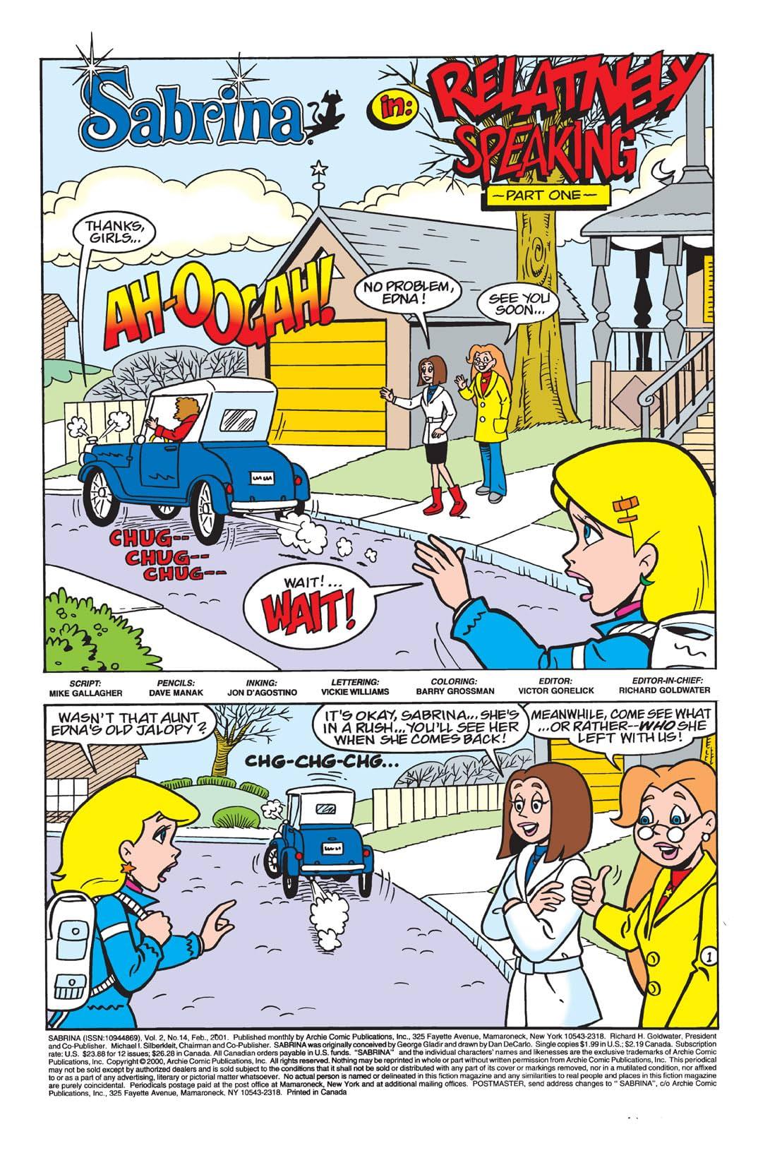 Sabrina the Teenage Witch Animated Series #14