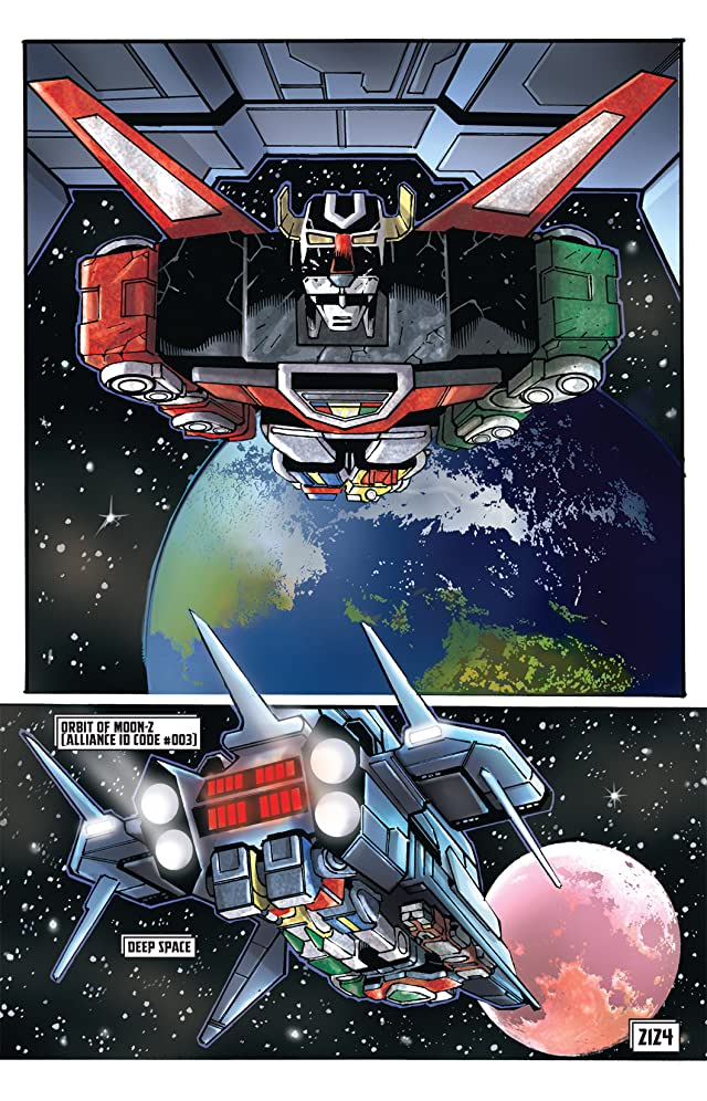 click for super-sized previews of Voltron #2