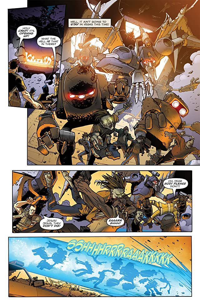 click for super-sized previews of Transformers: Infestation #1 (of 2)