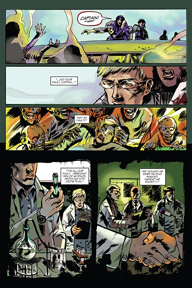 click for super-sized previews of Zombie Tales: The Dead #1