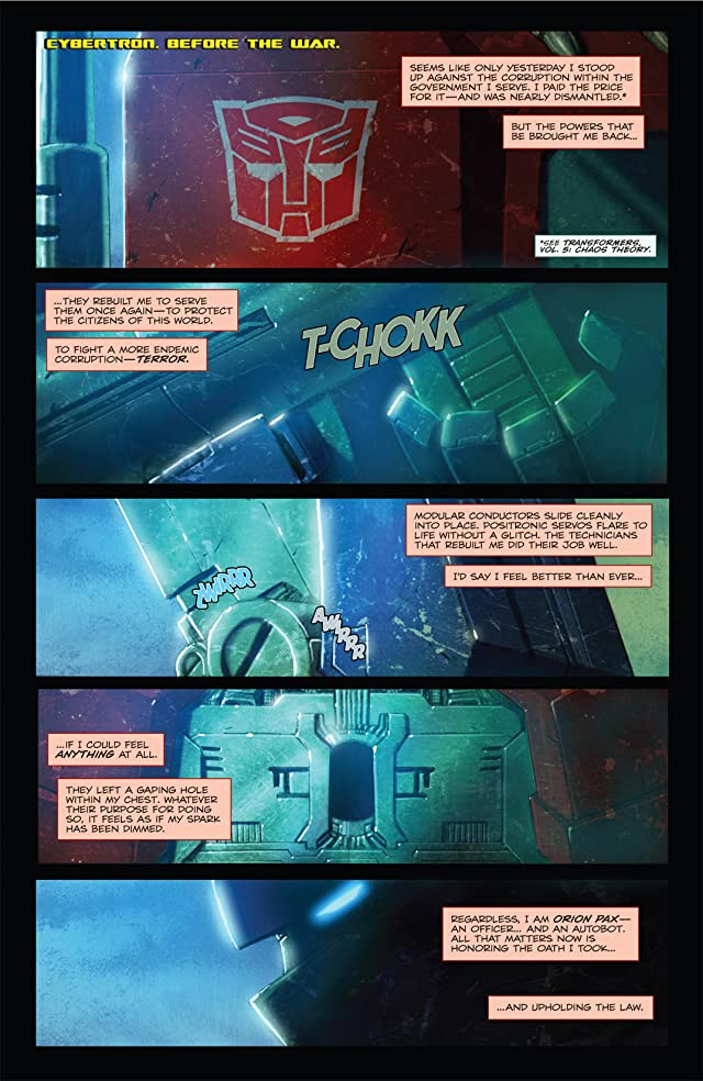 click for super-sized previews of Transformers: Autocracy #1