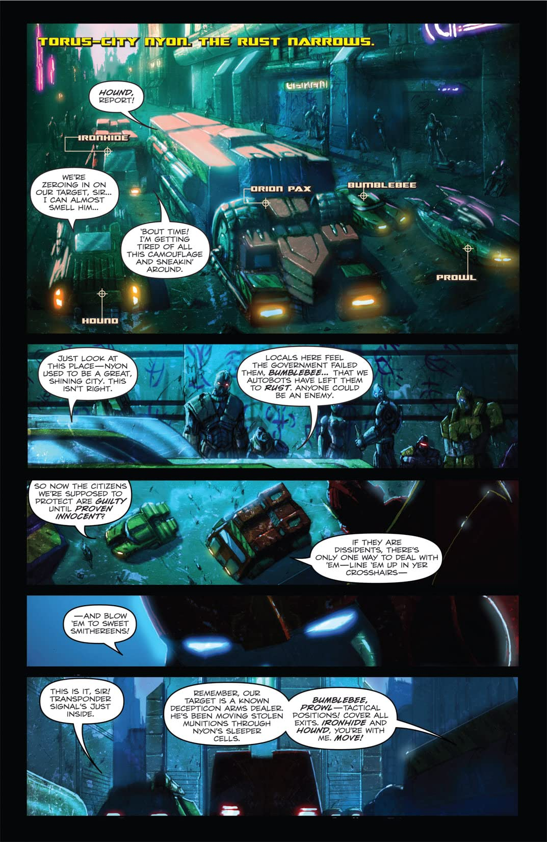 Transformers: Autocracy #1