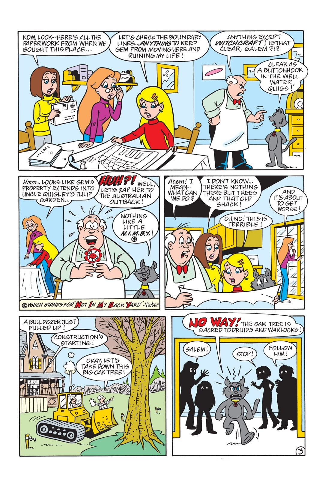 Sabrina the Teenage Witch Animated Series #16