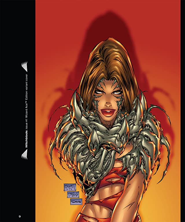 click for super-sized previews of The Art of Witchblade