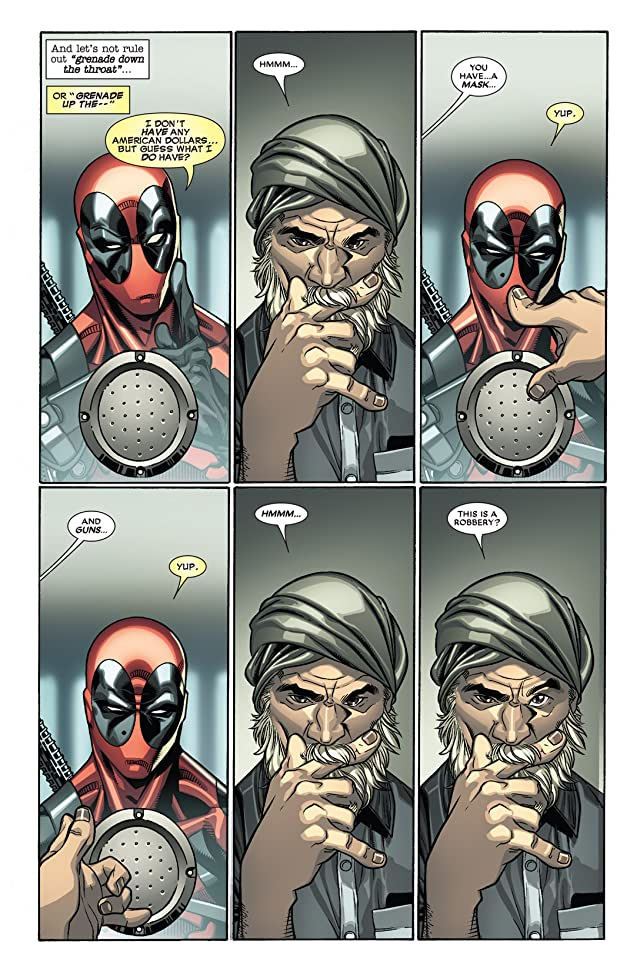 click for super-sized previews of Deadpool (2008-2012) #27