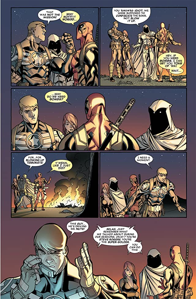 click for super-sized previews of Deadpool (2008-2012) #28