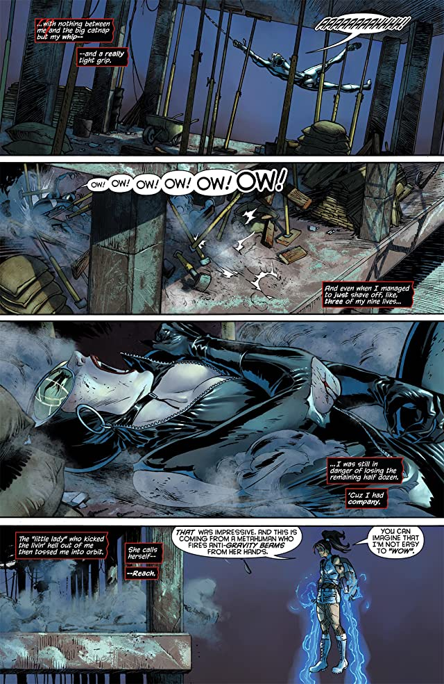 click for super-sized previews of Catwoman (2011-) #5