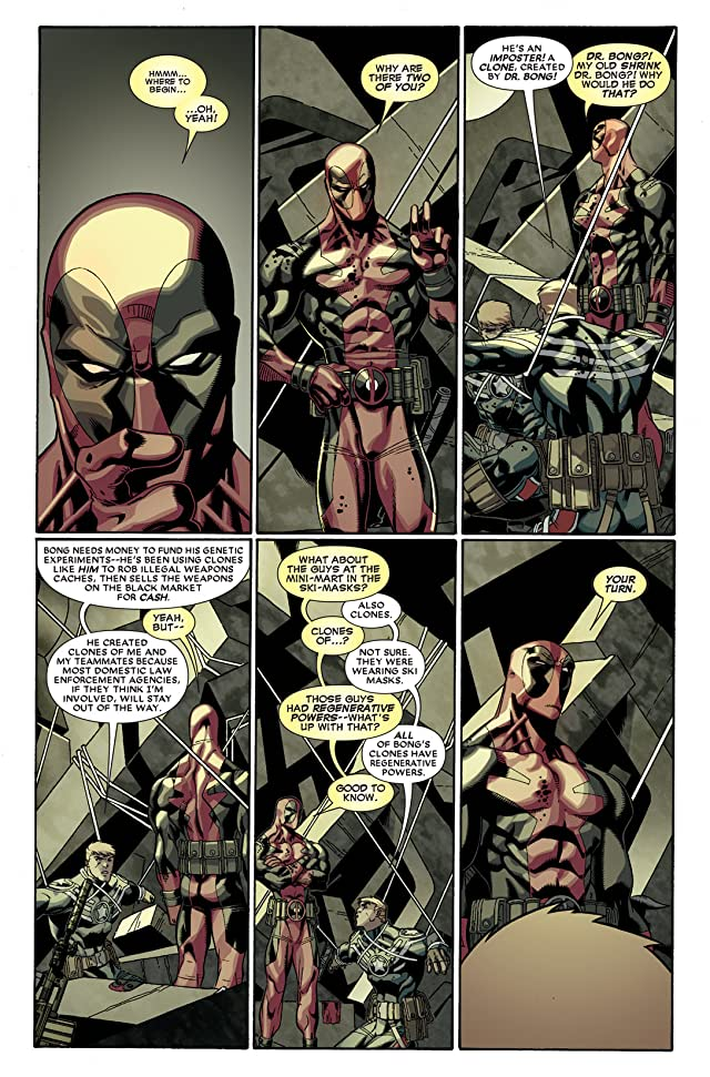 click for super-sized previews of Deadpool (2008-2012) #29